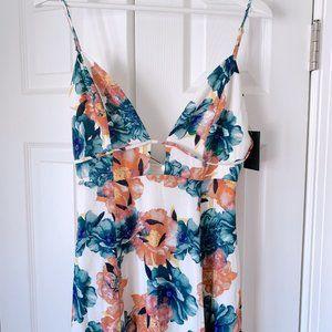 NBD Dresses - NWT NBD Floral Summer Haze Maxi Dress